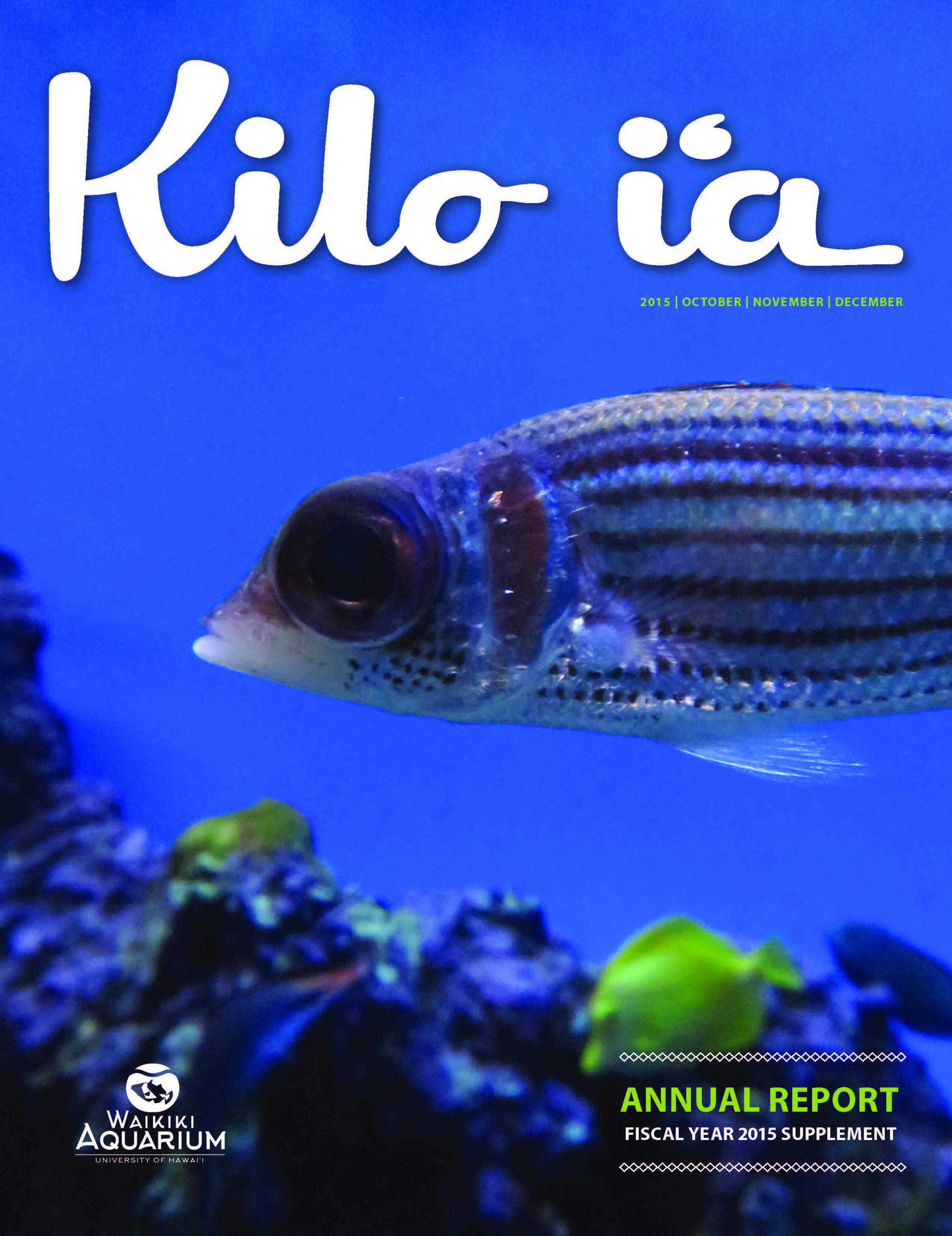 Kilo i'a magazine 2015