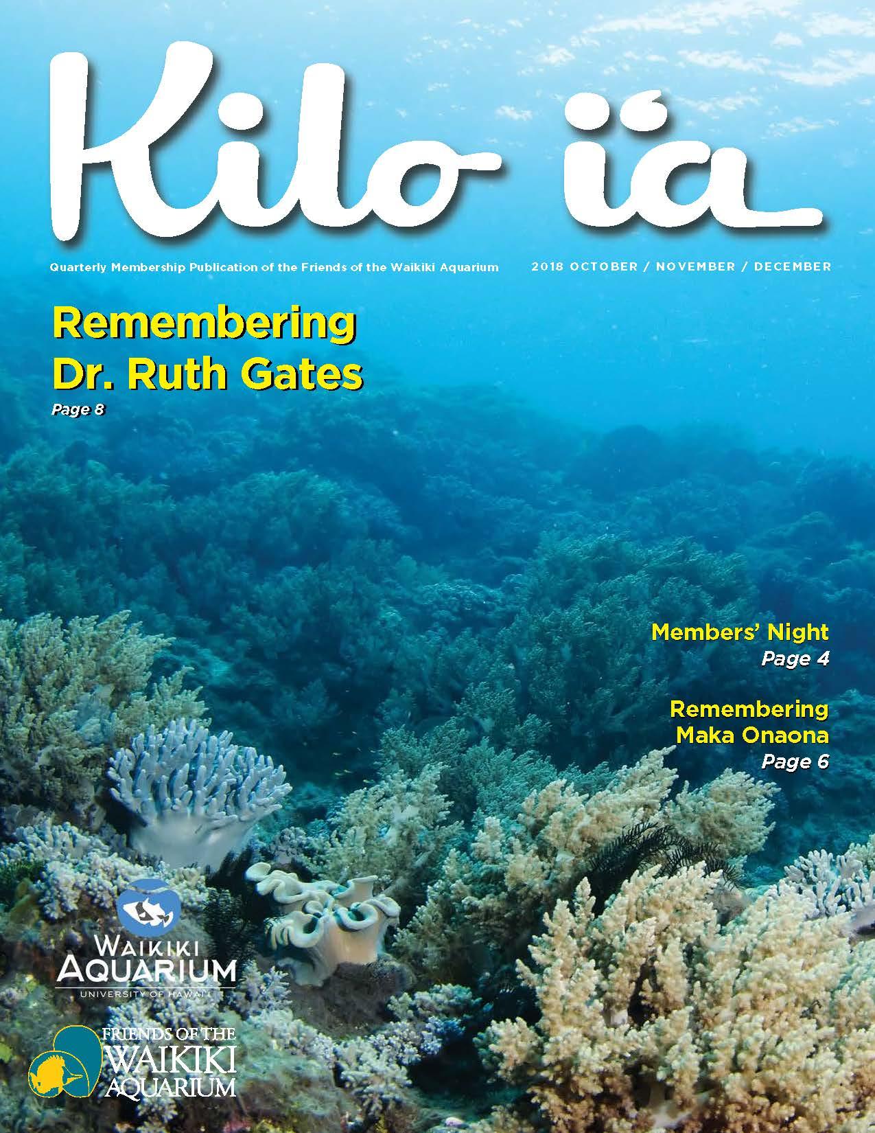 Kilo i'a magazine 2018